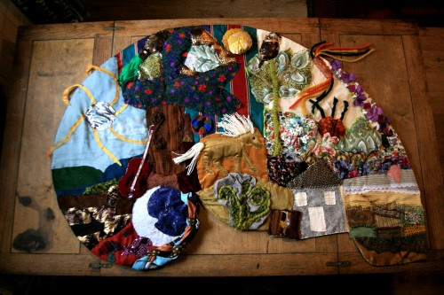 Tarset-Spiral tapestry